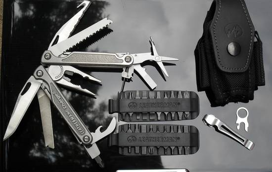 Leatherman Charge TTi мультитул