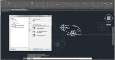 Создание 2D чертежей в AutoCAD Mechanical